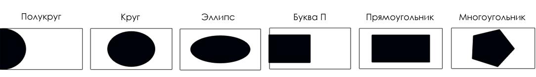 Геометрические конструкции натяжных потолков