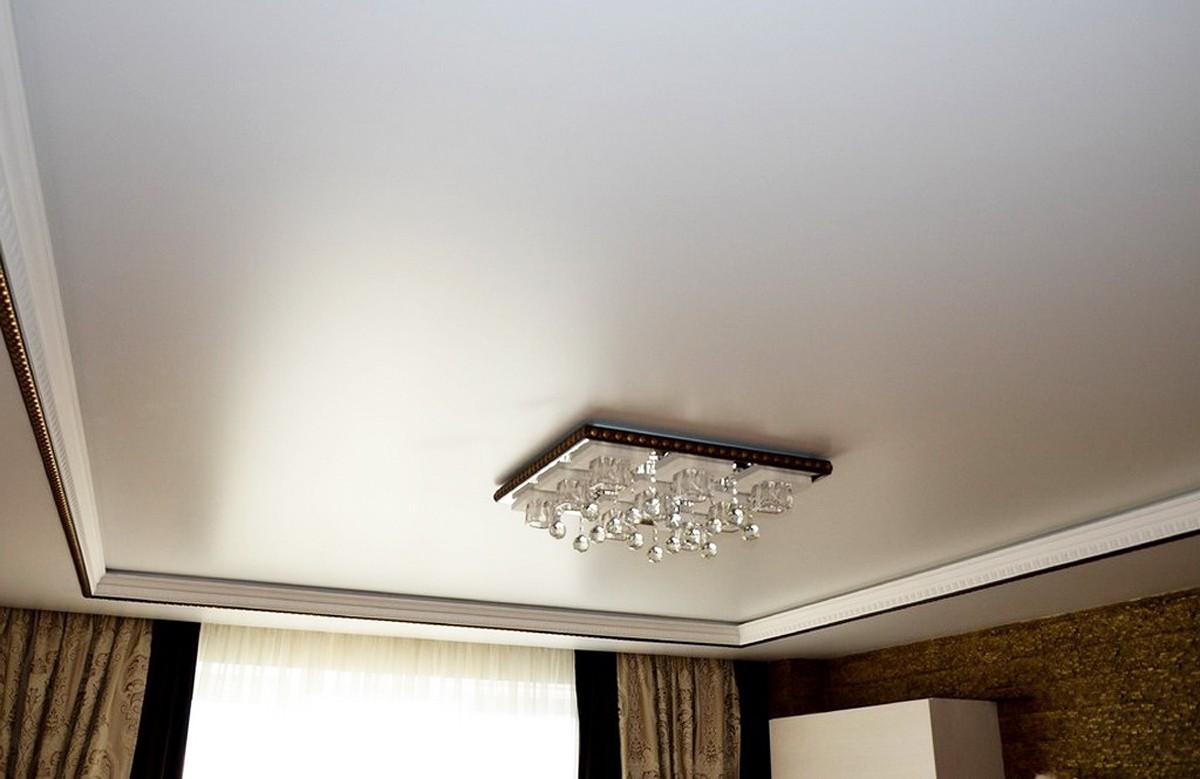 сатиновые натяжные потолки плюсы и минусы фото предлагаем большой