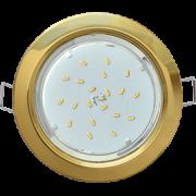 Светильник GX53 золотой